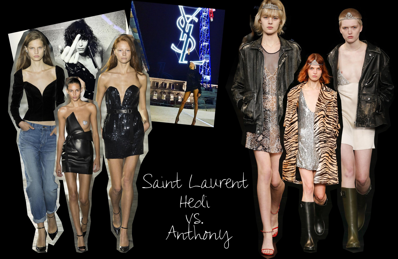 Ist Yves Saint Laurent Zur 252 Ck Die Neue Kollektion Von Anthony Vaccarello F 252 R Saint Laurent Ss17