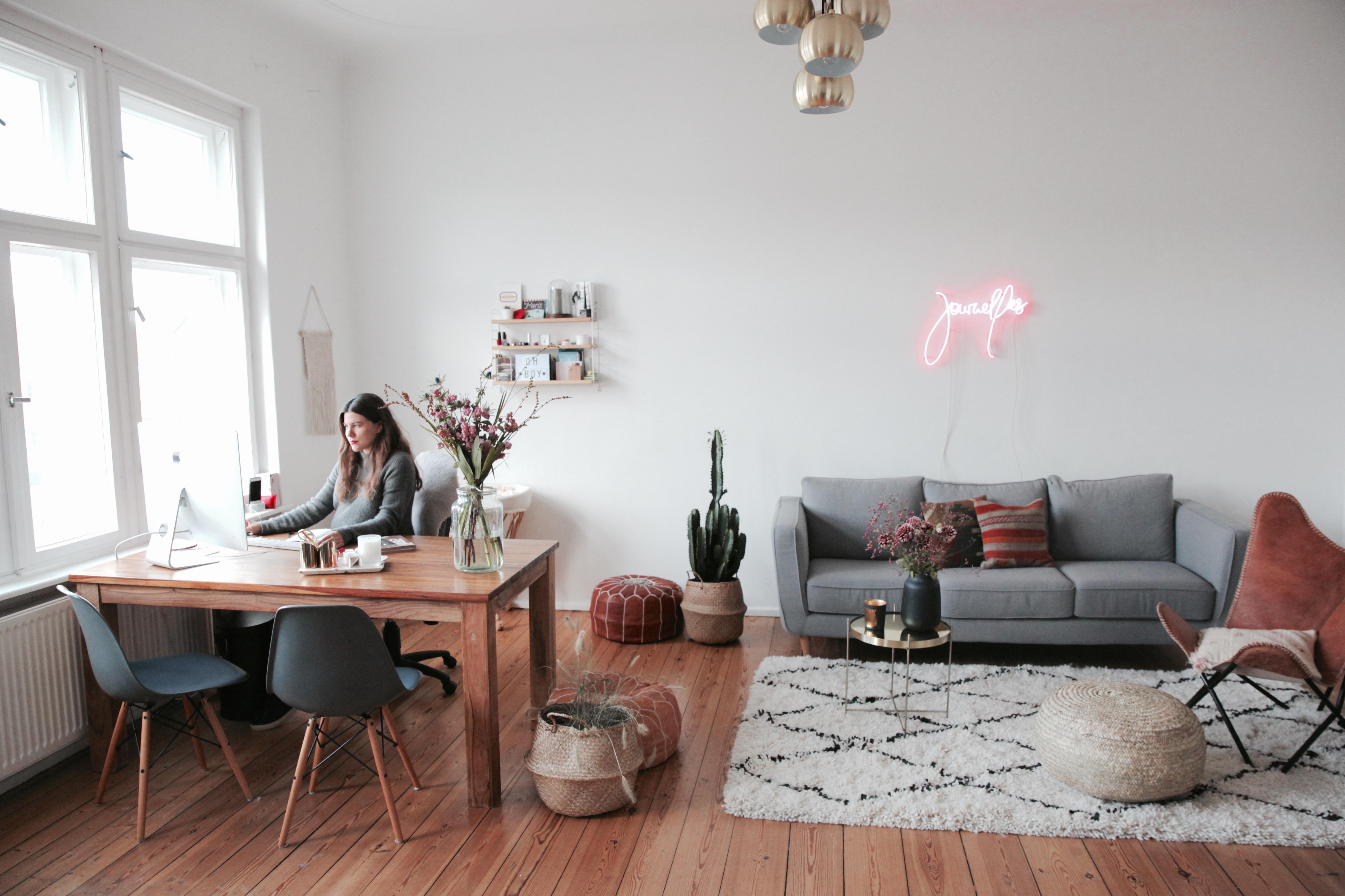 Mein Büro-Makeover mit dem Amazon Home Designshop - Journelles