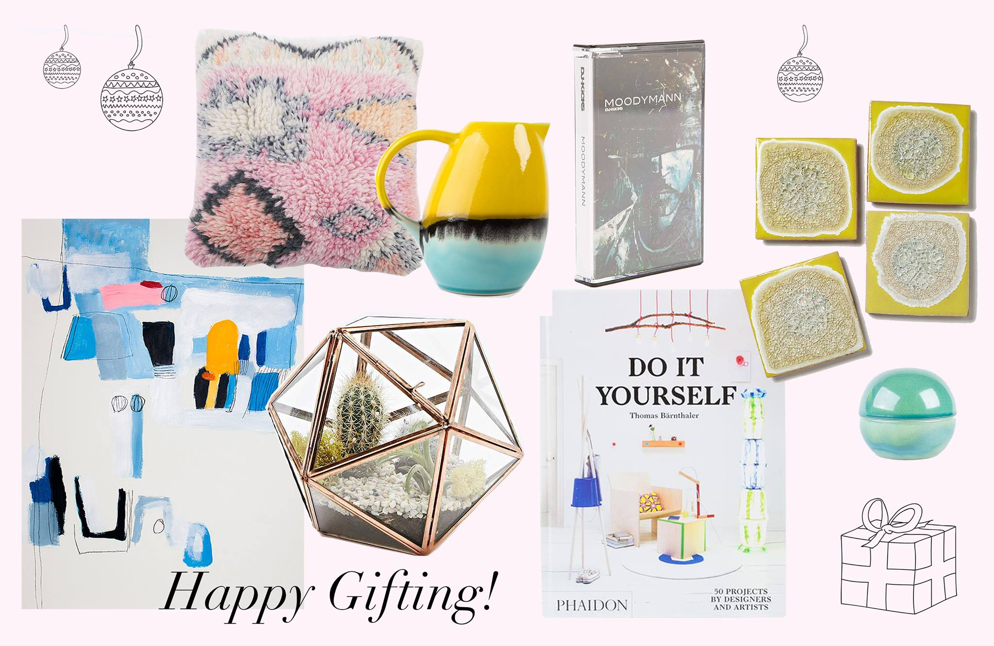 Interior Gift Guide: Kunterbunte Geschenke für Kreative - Journelles