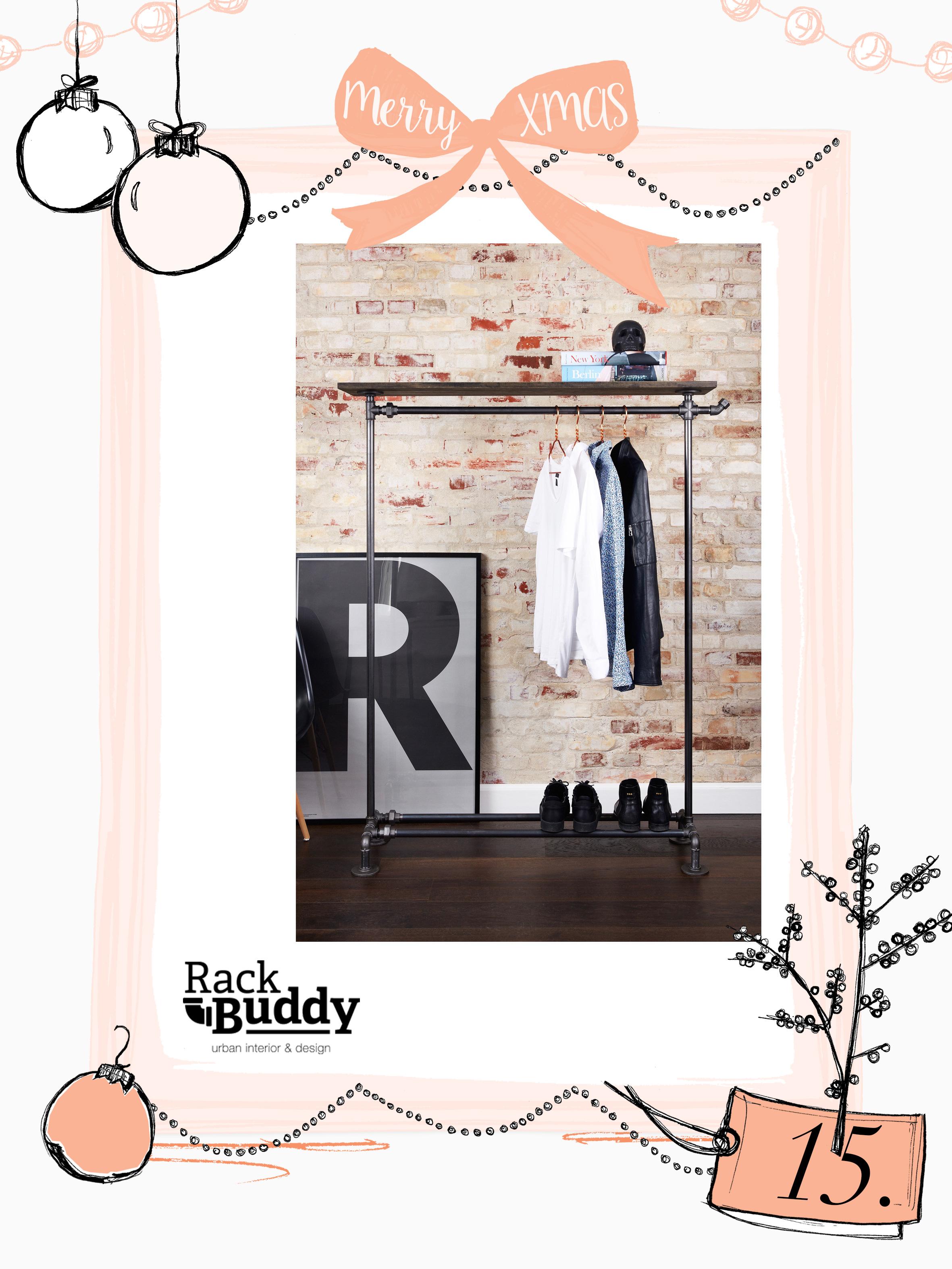 Kleiderständer clipart  15. Dezember: Ein Kleiderständer von RackBuddy - Journelles