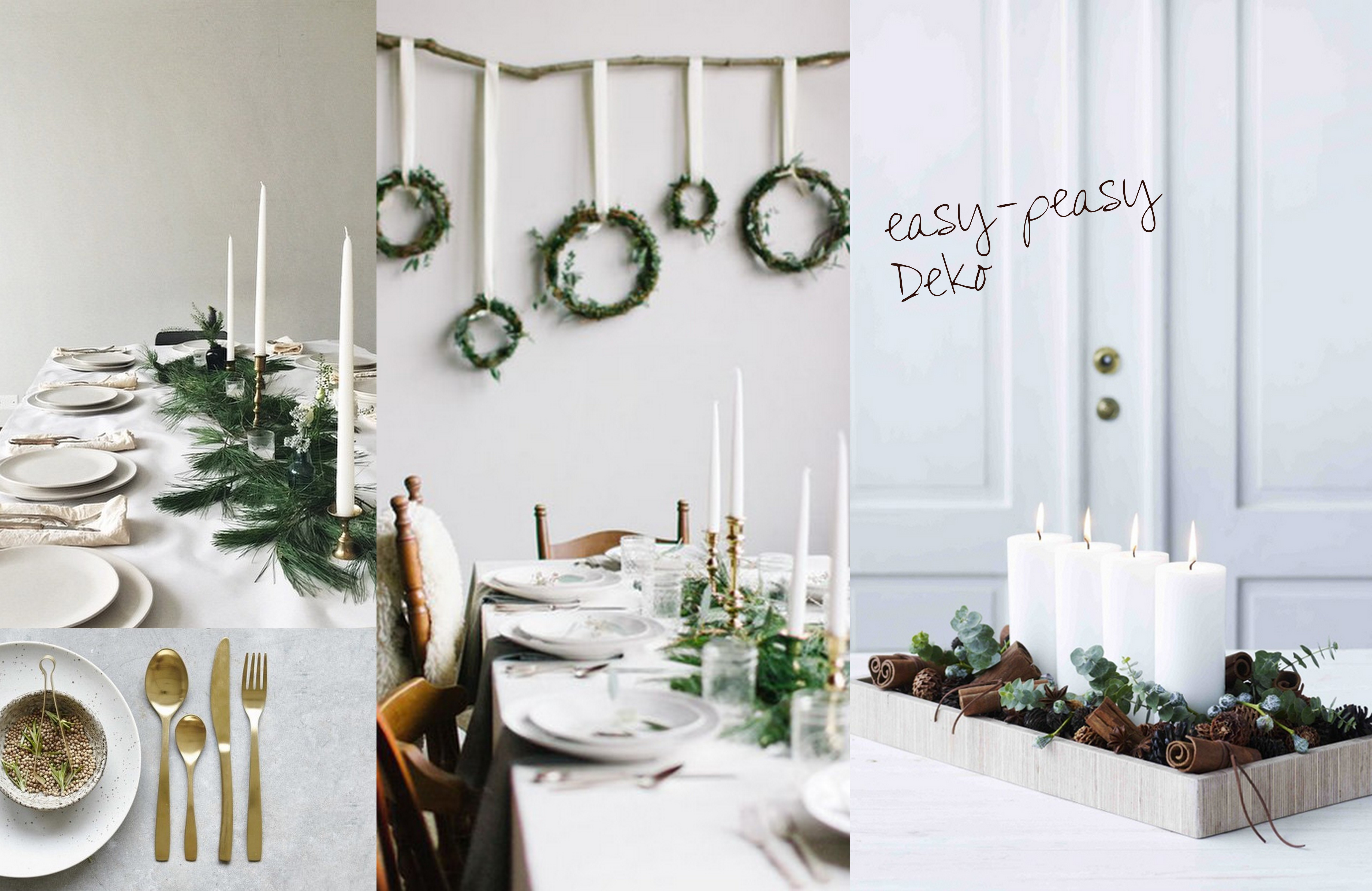Interior-Inspiration: Dekorative Ideen für den weihnachtlichen ...