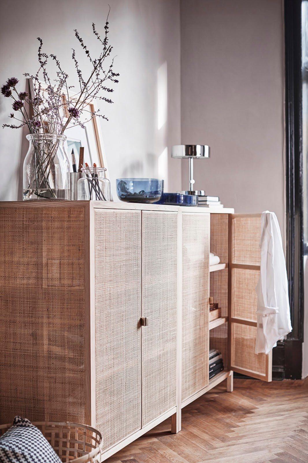 samt rattan und viel blau die ikea stockholm und ps kollektionen 2017 sind da journelles. Black Bedroom Furniture Sets. Home Design Ideas