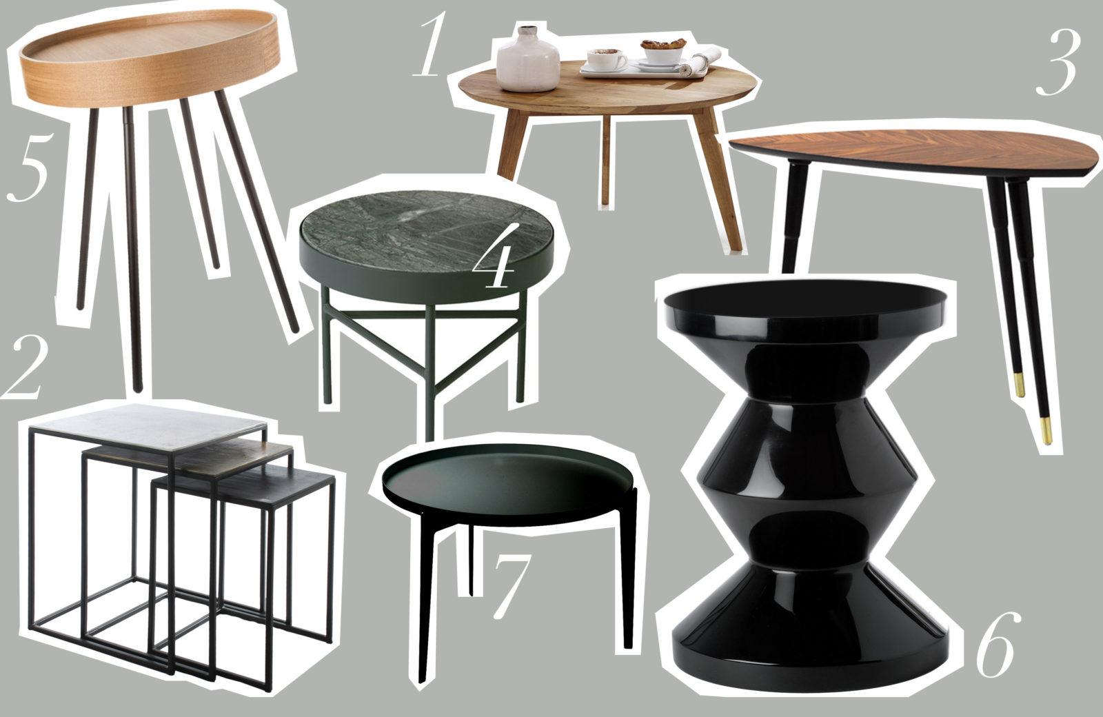 journelles maison die tollsten designer beistelltische. Black Bedroom Furniture Sets. Home Design Ideas