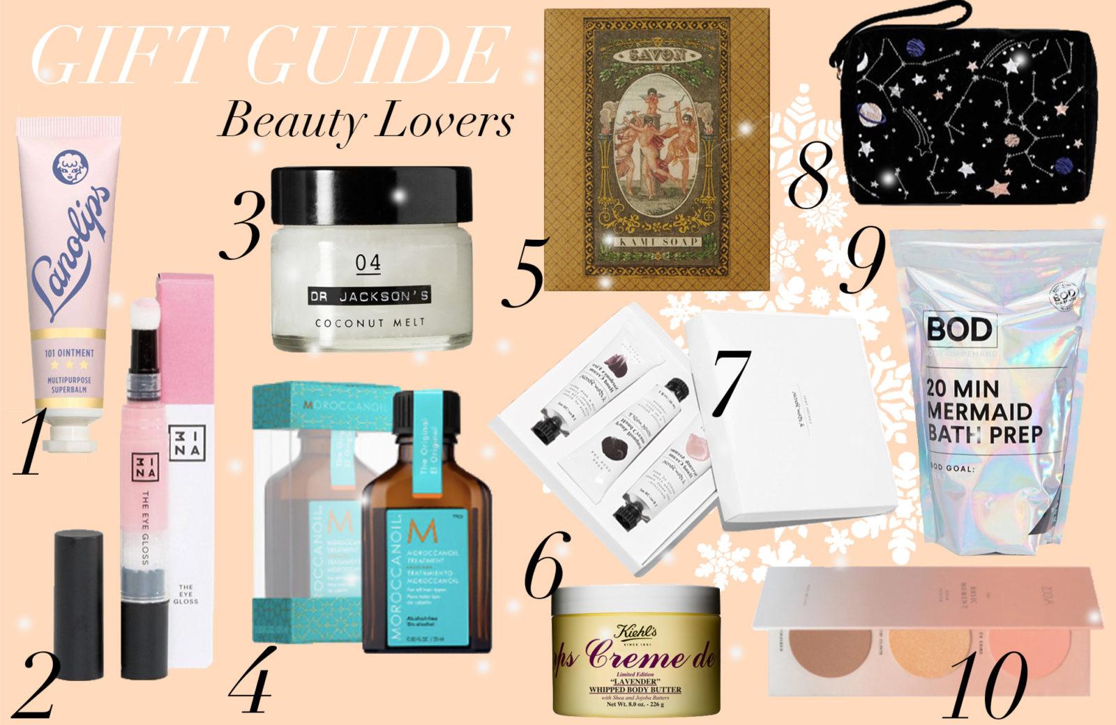 Beauty Gift Guide: Geschenke unter 15 Euro - Journelles