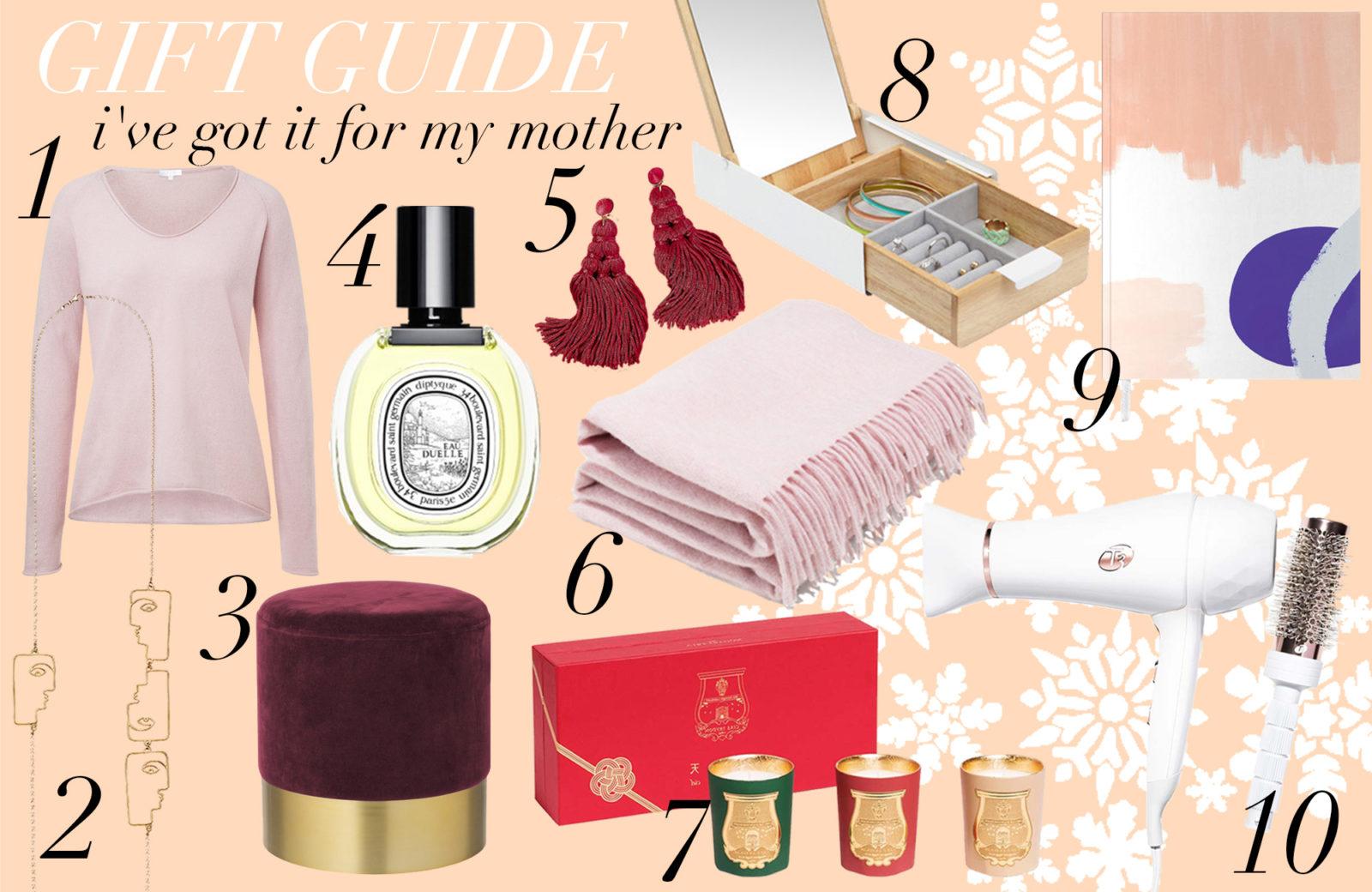 Gift Guide – Geschenke für die wichtigste Person: Mama! - Journelles