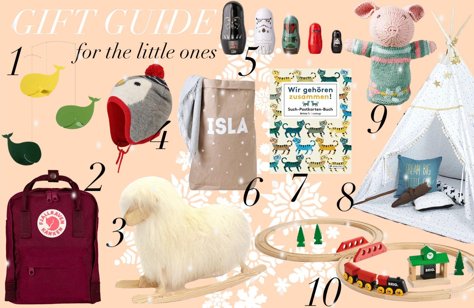 Gift Guide: Die tollsten Geschenke für die Kleinsten - Journelles