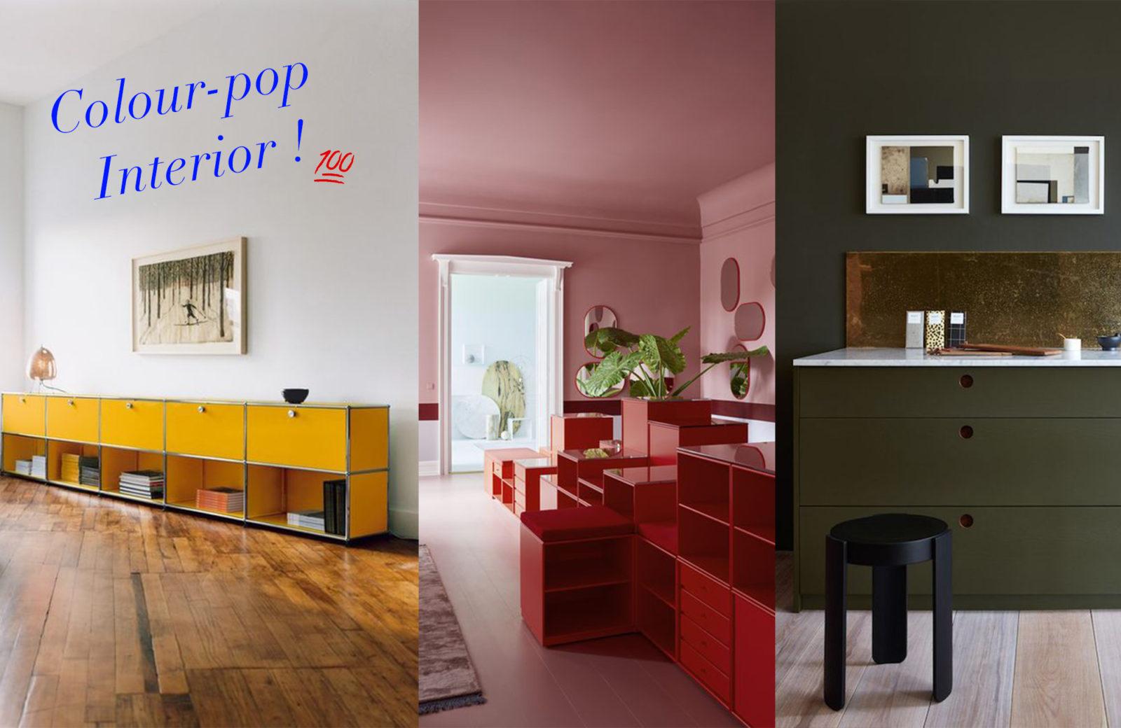 Lust auf Farbe! Wir setzen mit bunten Möbeln und Wänden gezielt ...
