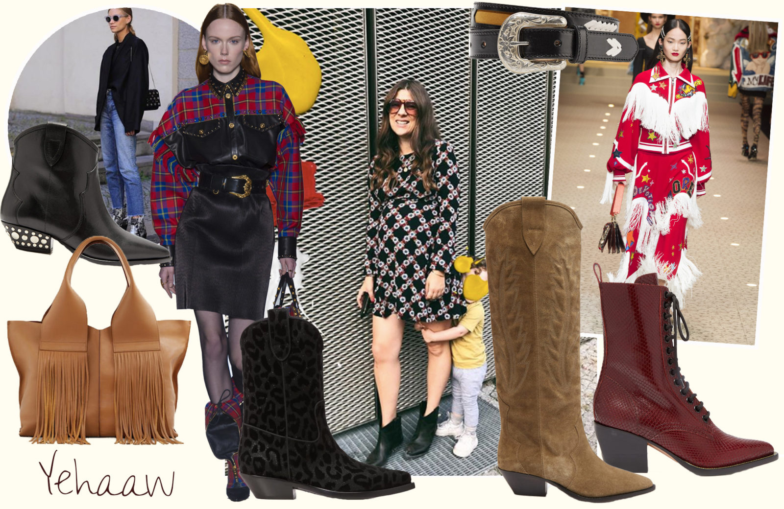 Modetrend 2018: Cowboy Stiefel & Western Boots | Fashiioncarpet