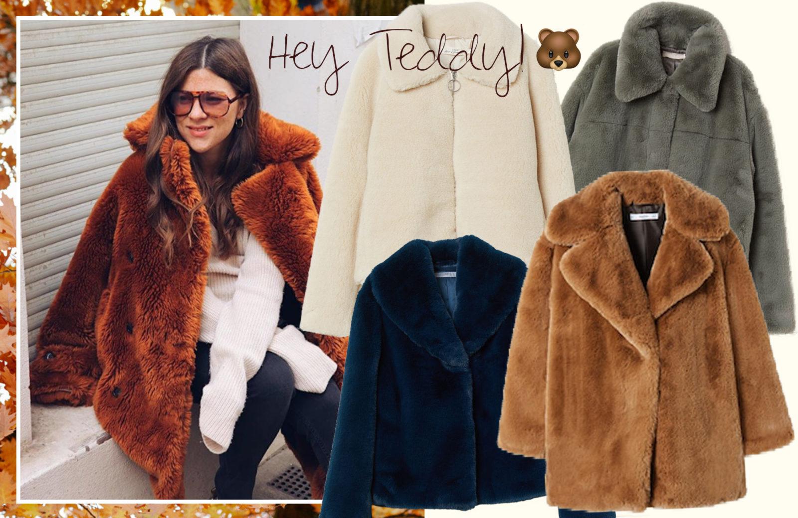 online retailer 036ac def3f Winter? Mit flauschigen Teddyfell-Mänteln sind wir bestens ...