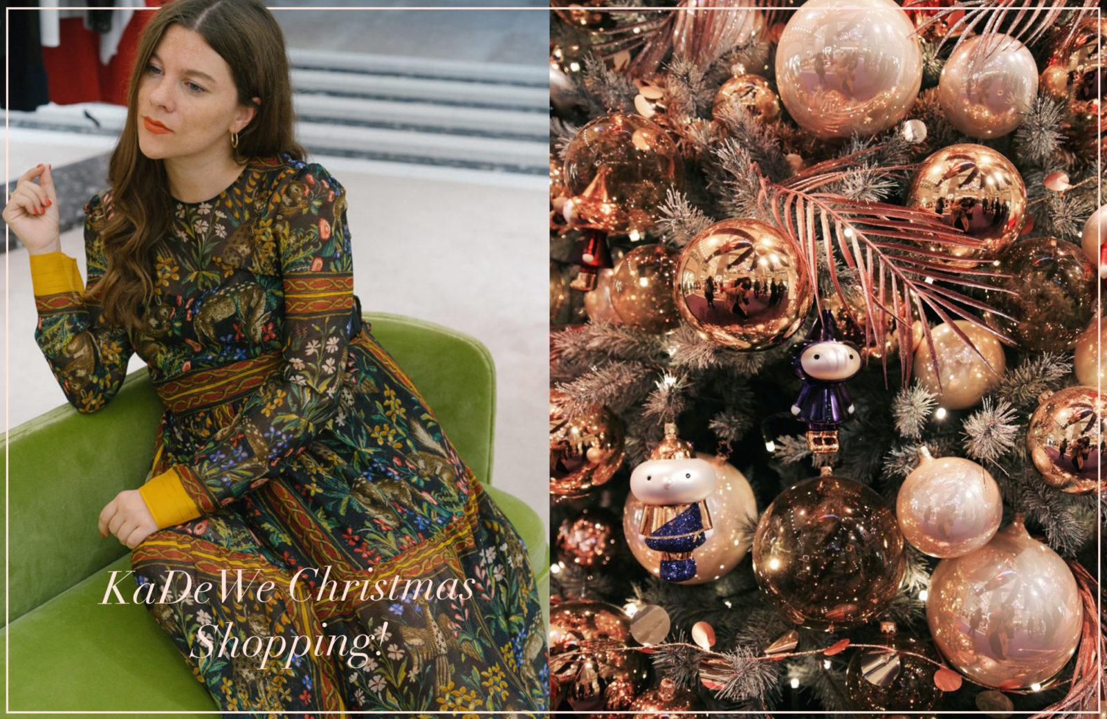 3c9ce1fcd5db Hach, in der Weihnachtszeit ist uns das KaDeWe ja am liebsten. Jedes Jahr  verwandelt sich unser liebstes Shoppingparadies in Berlin in ein wahres  Wunderland ...