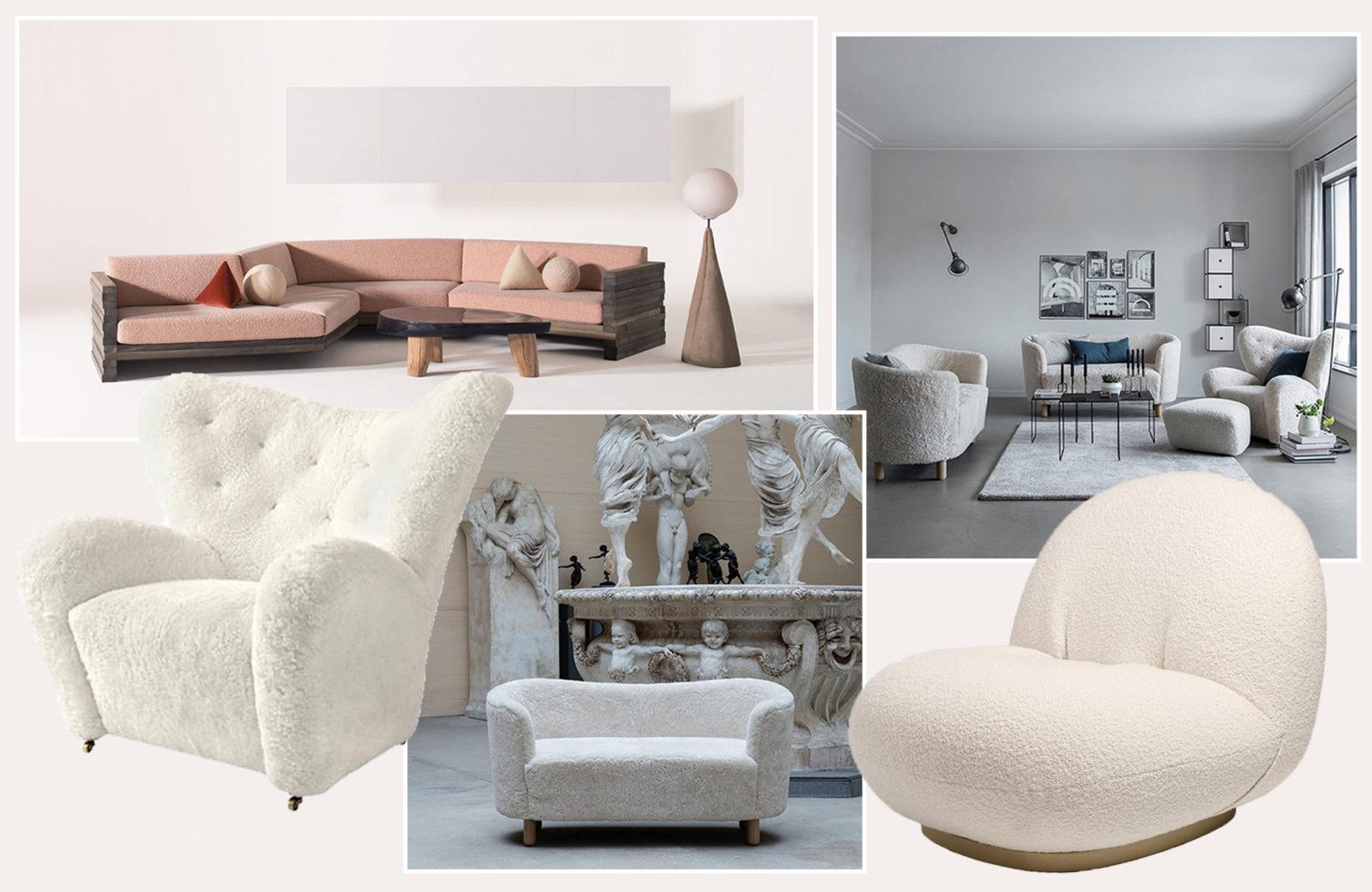 Möbel Im Schafspelz Die Schönsten Fluffigen Sessel Und Sofas