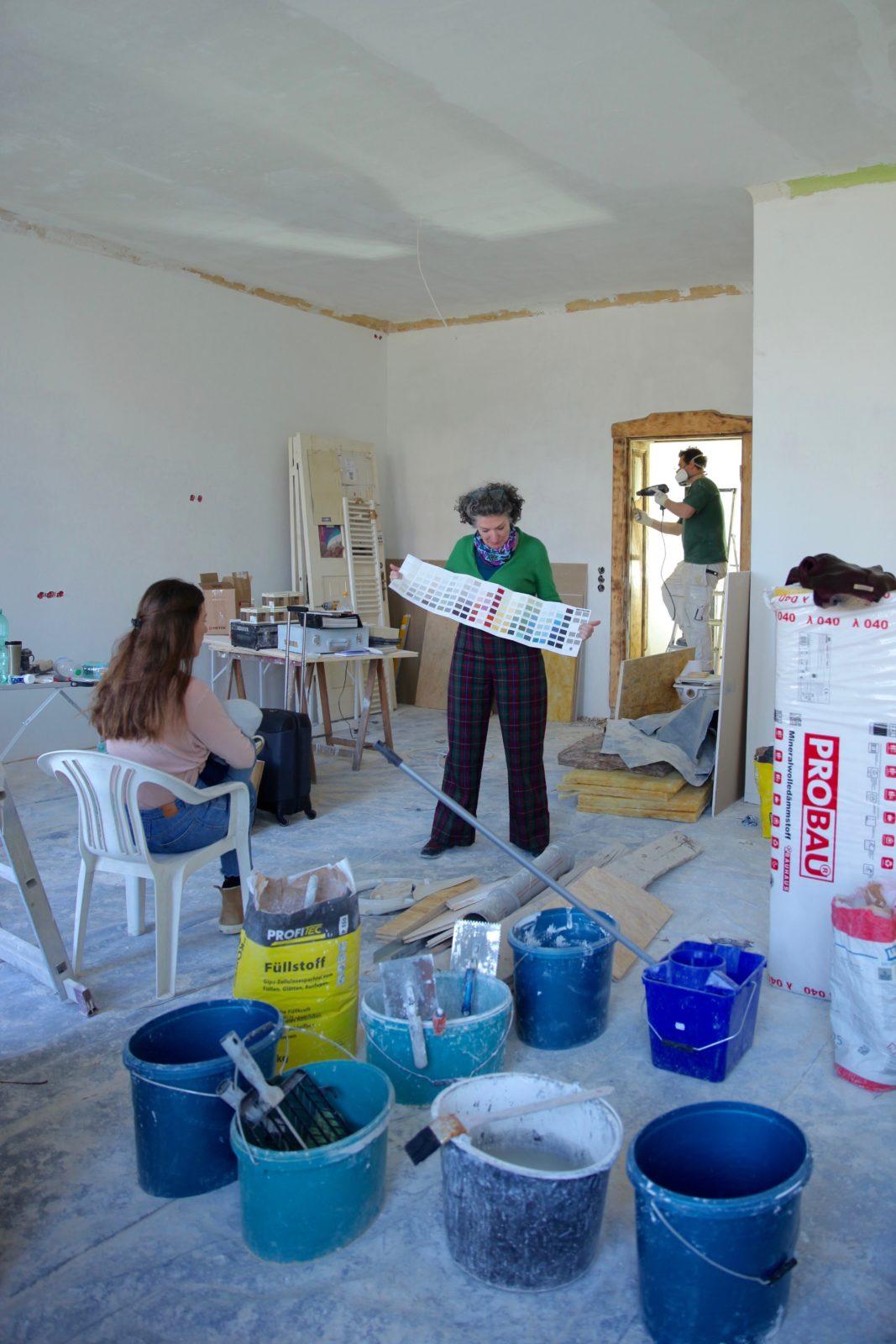 Die Wohnungsbaukolumne: Die Farbberatung mit Farrow & Ball - Journelles