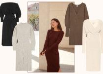 Dress to impress: Diese Strickkleider tragen wir im Herbst
