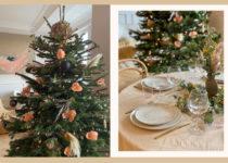 Blumen und Pampasgras: So sehen auch in diesem Jahr Jessies Adventskranz und der Weihnachtsbaum aus!
