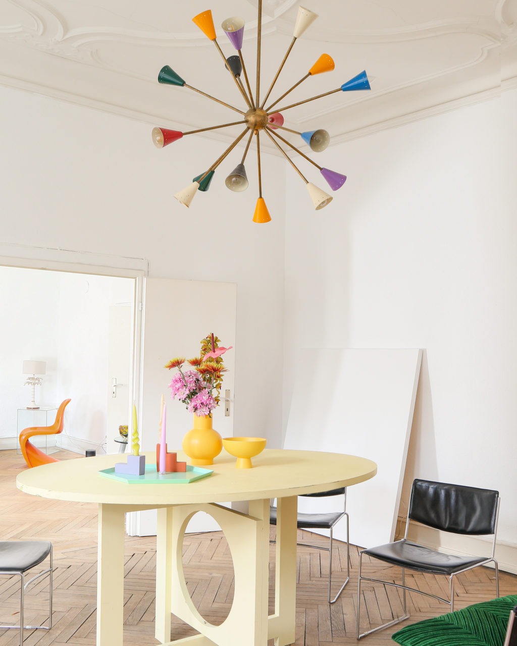 Homestory: Farbenpracht im Altbau bei Tina Mia Weidmann
