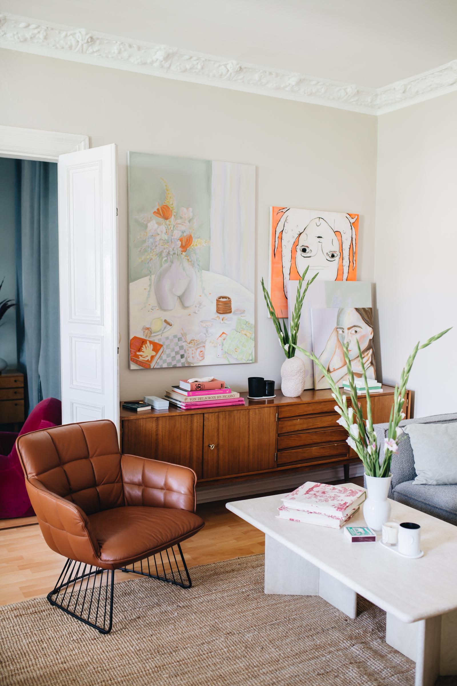 Sinnlich und künstlerisch – zu Hause bei Charlotte Adam